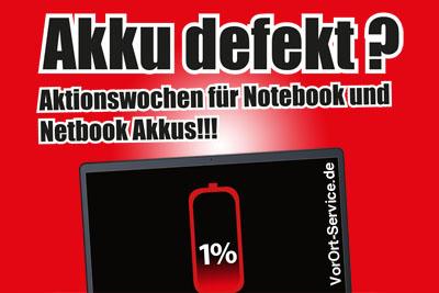 Akkuwochen Laptop und Netbook
