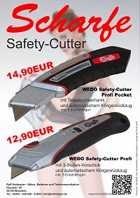 WEDO Safety-Cutter