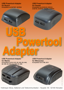 Sila Powertool-Adapter